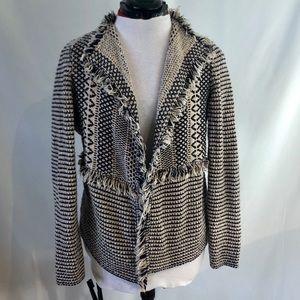 Chico's Jacket Pattern Fringed